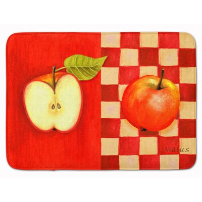 Apple by Ute Nuhn Memory Foam Bath Rug