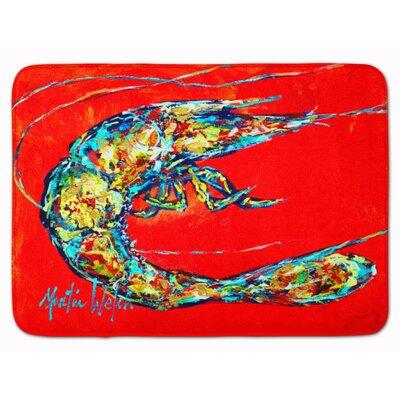 Odin Shrimp Boil Memory Foam Bath Rug