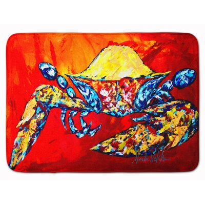 Crab Bring it on Memory Foam Bath Rug