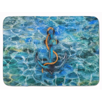 Anchor and Rope Memory Foam Bath Rug