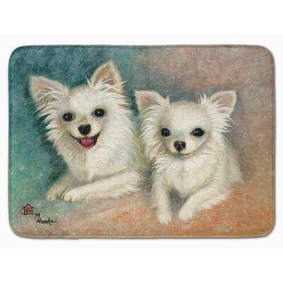 Chihuahua The Siblings Memory Foam Bath Rug