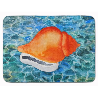 Newland Sea Shells Memory Foam Bath Rug