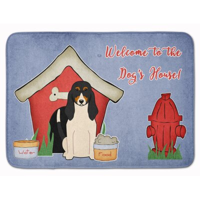Dog House Swiss Hound Memory Foam Bath Rug