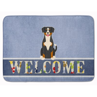 Entlebucher Welcome Memory Foam Bath Rug