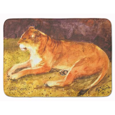 Malizia Lion Memory Foam Bath Rug