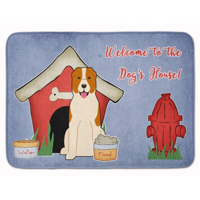 Dog House Central Asian Shepherd Dog Memory Foam Bath Rug