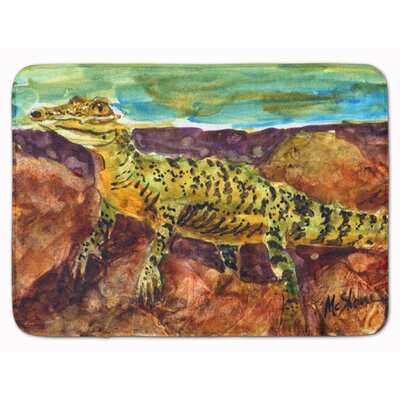 Alligator Memory Foam Bath Rug
