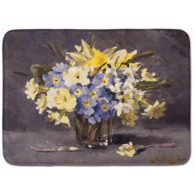 Avedon Spring Bouquet by John Codner Memory Foam Bath Rug