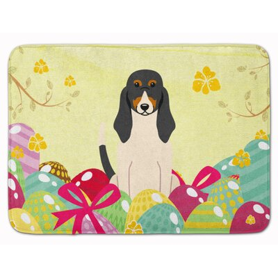 Easter Eggs Swiss Hound Memory Foam Bath Rug