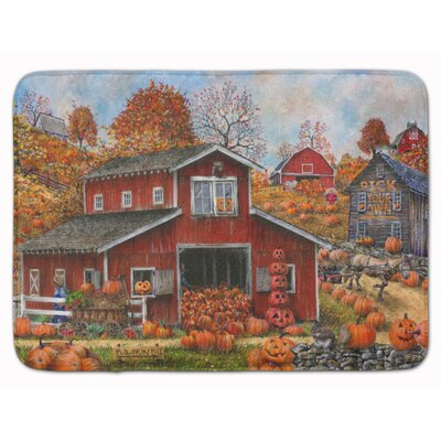 Pick your Own Pumpkins Fall Memory Foam Bath Rug