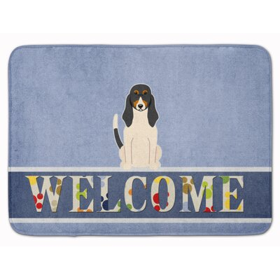 Swiss Hound Welcome Memory Foam Bath Rug