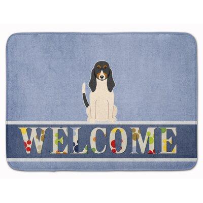 Swiss Hound Welcome Memory Foam Bath Rug