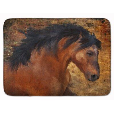 Wild Horse Memory Foam Bath Rug