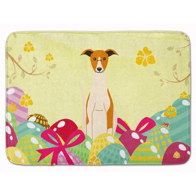 Easter Eggs Whippet Memory Foam Bath Rug