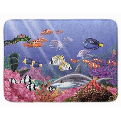 Undersea Fantasy 5 Memory Foam Bath Rug