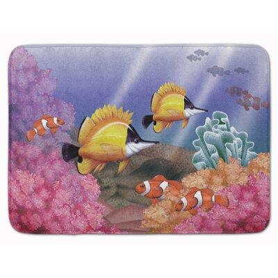 Undersea Fantasy 6 Memory Foam Bath Rug