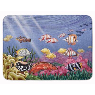 Undersea Fantasy 7 Memory Foam Bath Rug