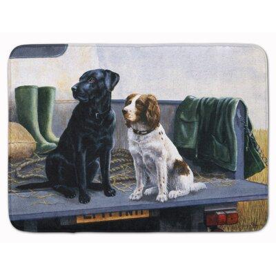 Kildare The Tailgate Labrador Springer Spaniel Memory Foam Bath Rug