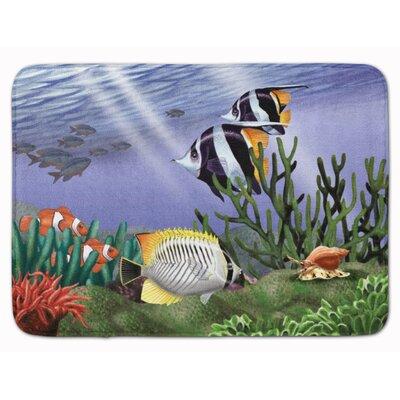 Undersea Fantasy 9 Memory Foam Bath Rug