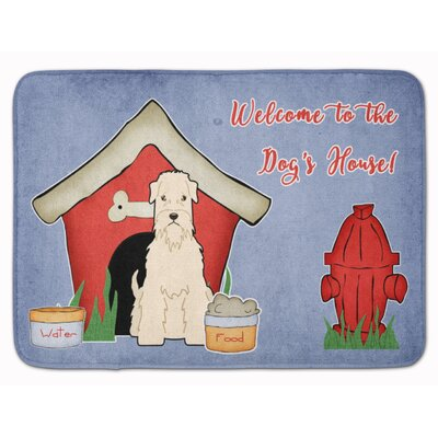 Dog House Soft Coated Wheaten Terrier Memory Foam Bath Rug