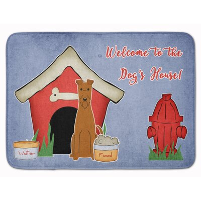 Dog House Irish Terrier Memory Foam Bath Rug
