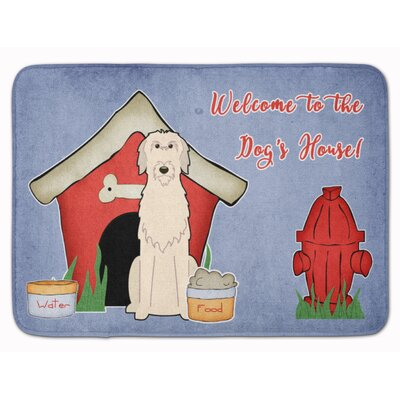 Dog House Irish Wolfhound Memory Foam Bath Rug