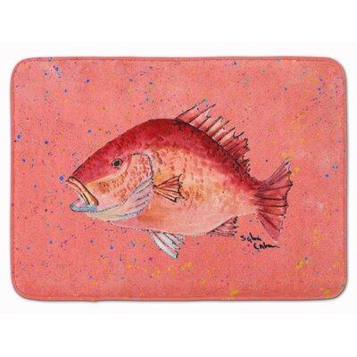 Bowmore Strawberry Snapper Memory Foam Bath Rug