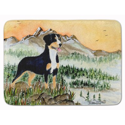 Entlebucher Mountain Dog Memory Foam Bath Rug