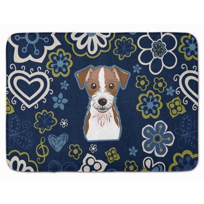 Jack Russell Terrier Memory Foam Bath Rug