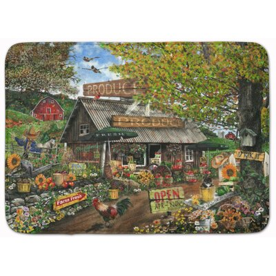 The Produce Fruit Stand Memory Foam Bath Rug