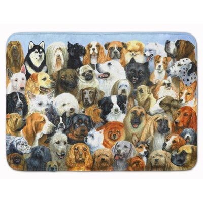 Fifty One Dogs Memory Foam Bath Rug