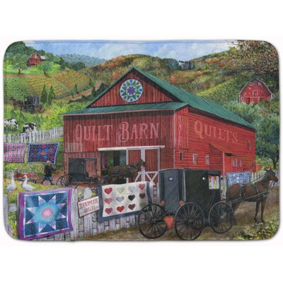 The Quilt Barn Memory Foam Bath Rug