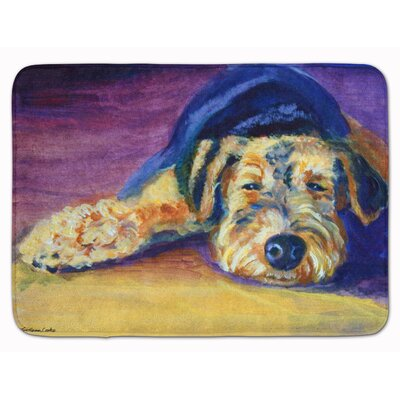 Snoozer Airedale Terrier Memory Foam Bath Rug
