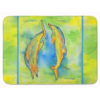 Dolphin Memory Foam Bath Rug