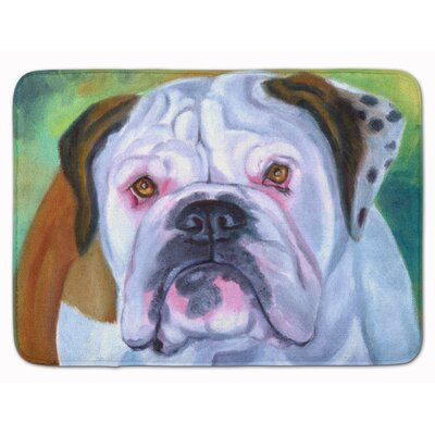 English Bulldog Memory Foam Bath Rug