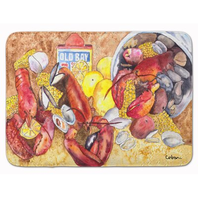 Seagate Lobster with Old Bay Memory Foam Bath Rug
