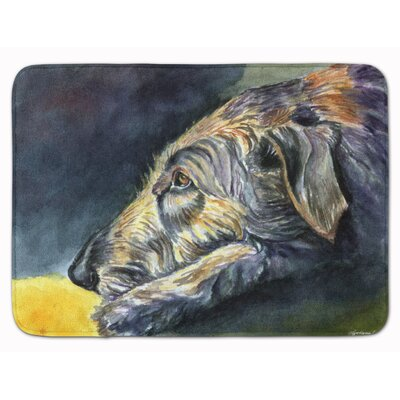 Jasper Irish Wolfhound Sleeper Memory Foam Bath Rug