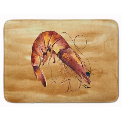 Odin Rectangle Shrimp Memory Foam Bath Rug