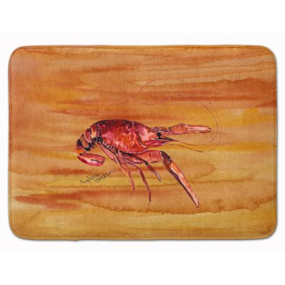 Crawfish Memory Foam Bath Rug