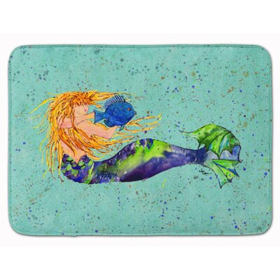 Mermaid Memory Foam Bath Rug
