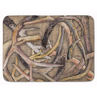 Deer Horns Memory Foam Bath Rug
