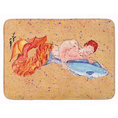 Merman Memory Foam Bath Rug