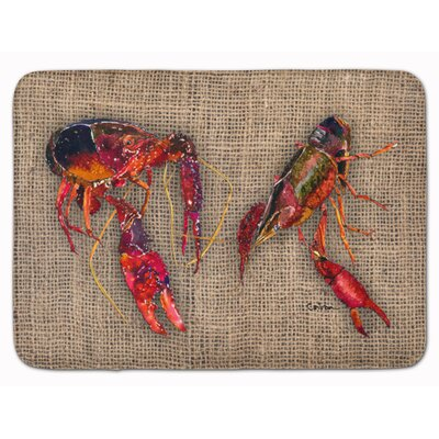 Crawfish Memory Foam Bath Rug