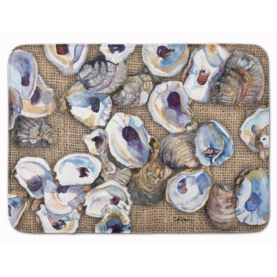 Seagrove Oyster Memory Foam Bath Rug
