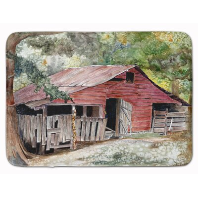Barn Old Memory Foam Bath Rug
