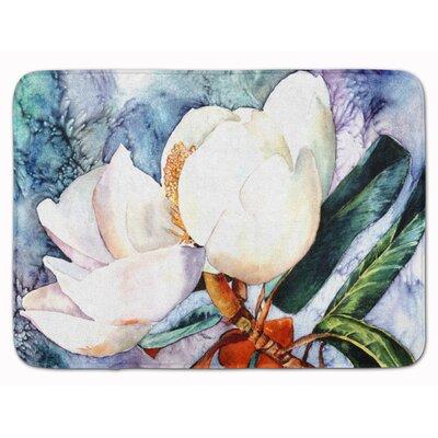 Bachar Magnolia Memory Foam Bath Rug