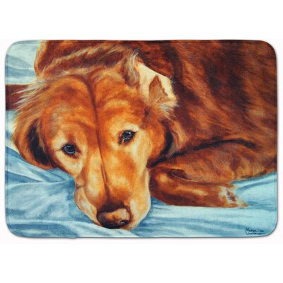Retriever by Tanya and Craig Memory Foam Bath Rug