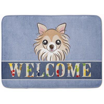 Chihuahua Welcome Memory Foam Bath Rug