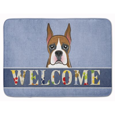 Boxer Welcome Memory Foam Bath Rug