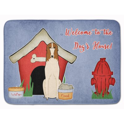 Dog House Borzoi Memory Foam Bath Rug